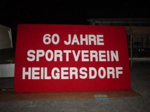 60 Jahre Schild